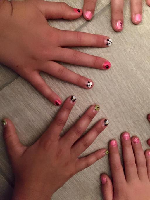 Nail Art princesse Party
