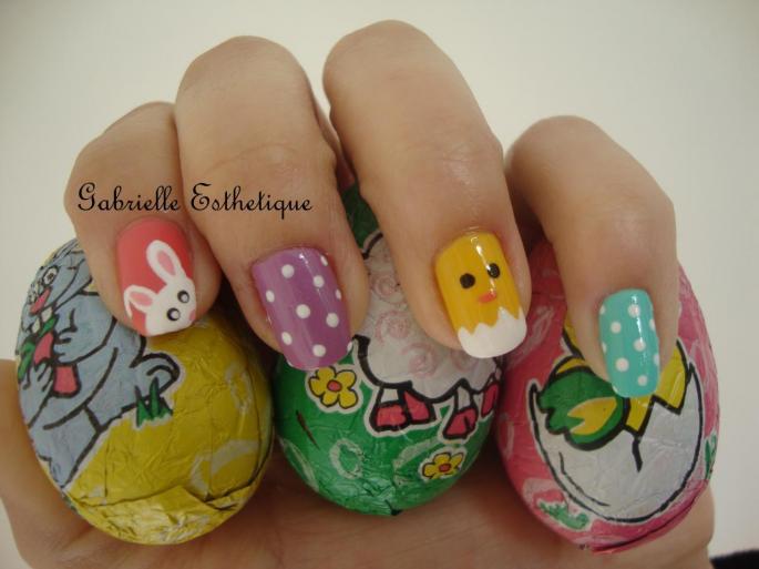 Nail Art de Pâques! // Easter Nail Art