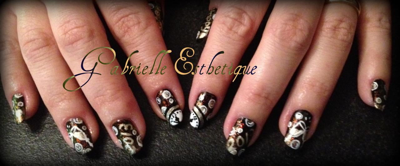 Nail art nouvel an - Nail art nouvel an ...