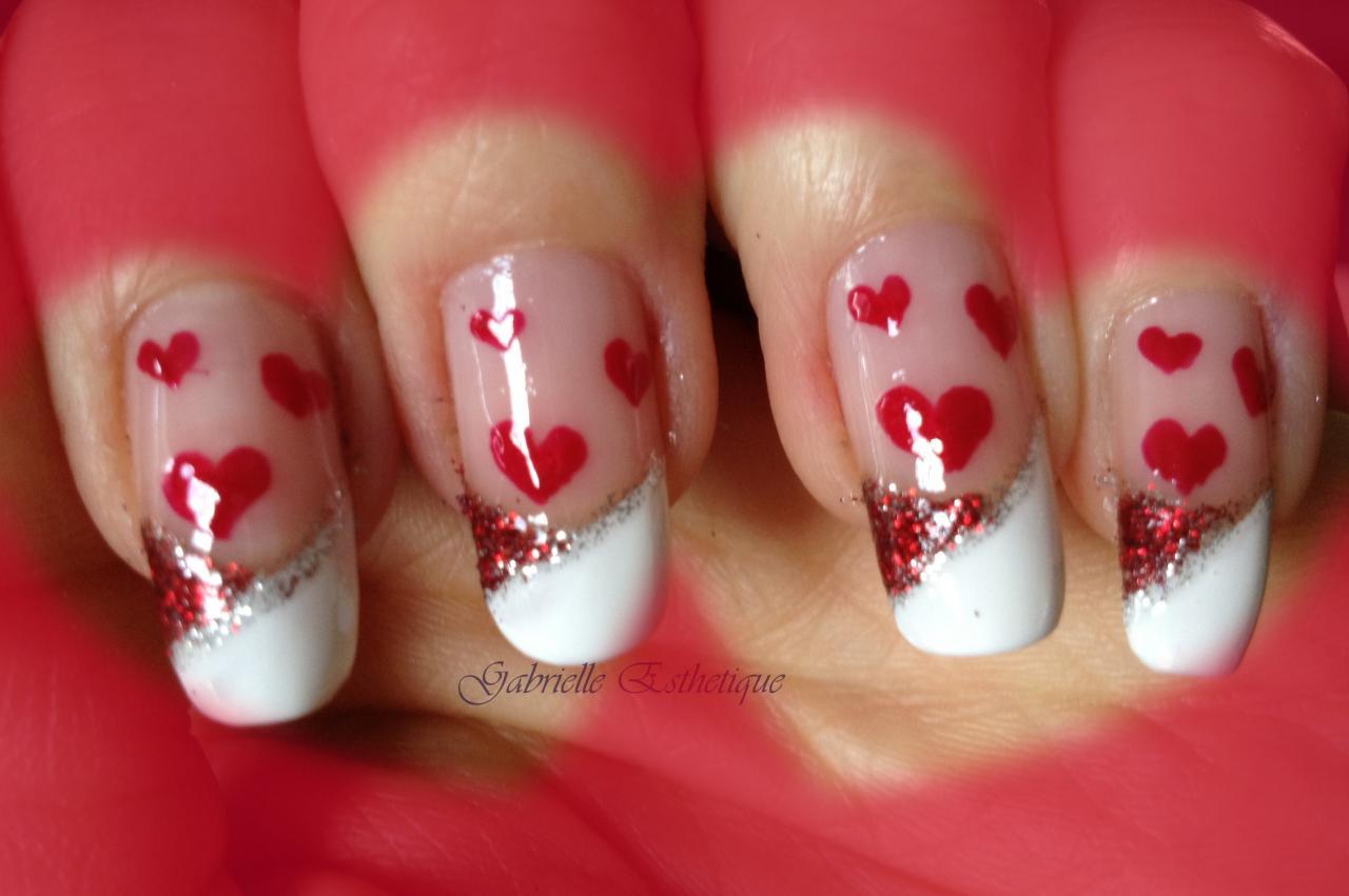 nail art st valentin 2013