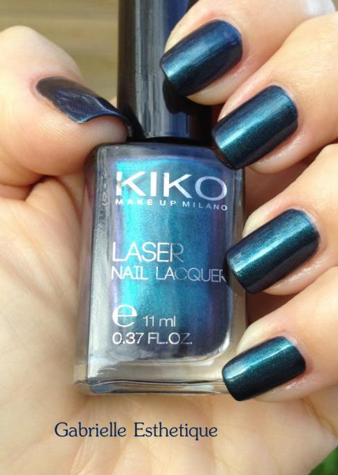 Nouveau vernis Kiko collection LASER n.435