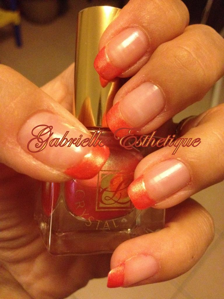 French Orange (vernis Estee Lauder n.311)