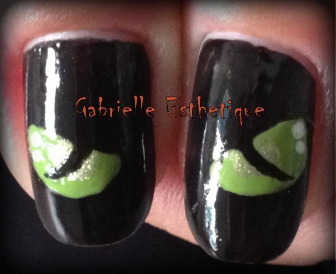Halloween Nail Art // Nail Art Halloween