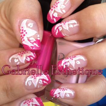 french rose avec fleur