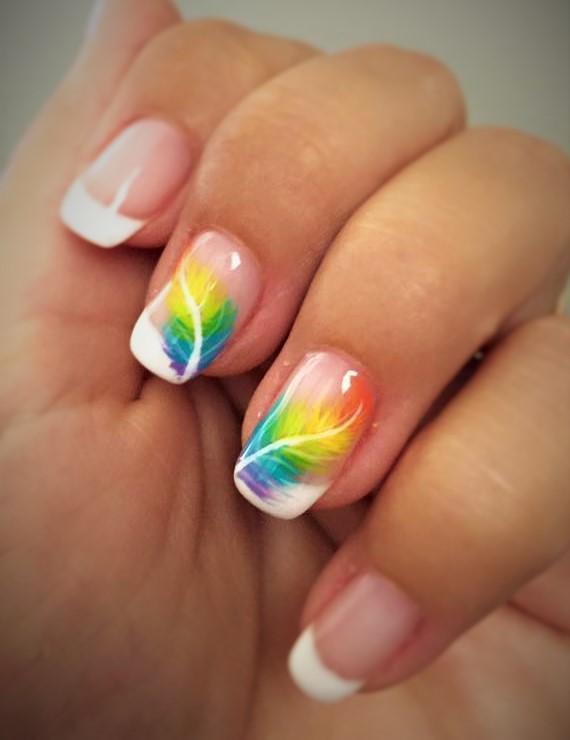 gabrielle esthetique nail art plume
