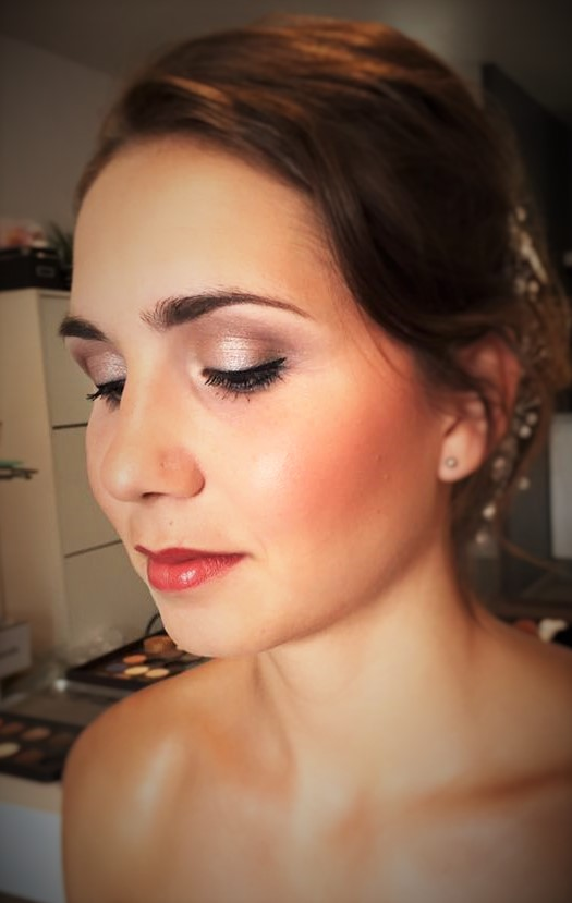 maquillage mariee gabrielle esthetique 2016