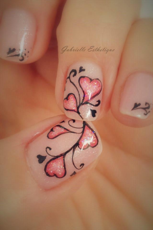 gabrielle esthetique nail art st valentin