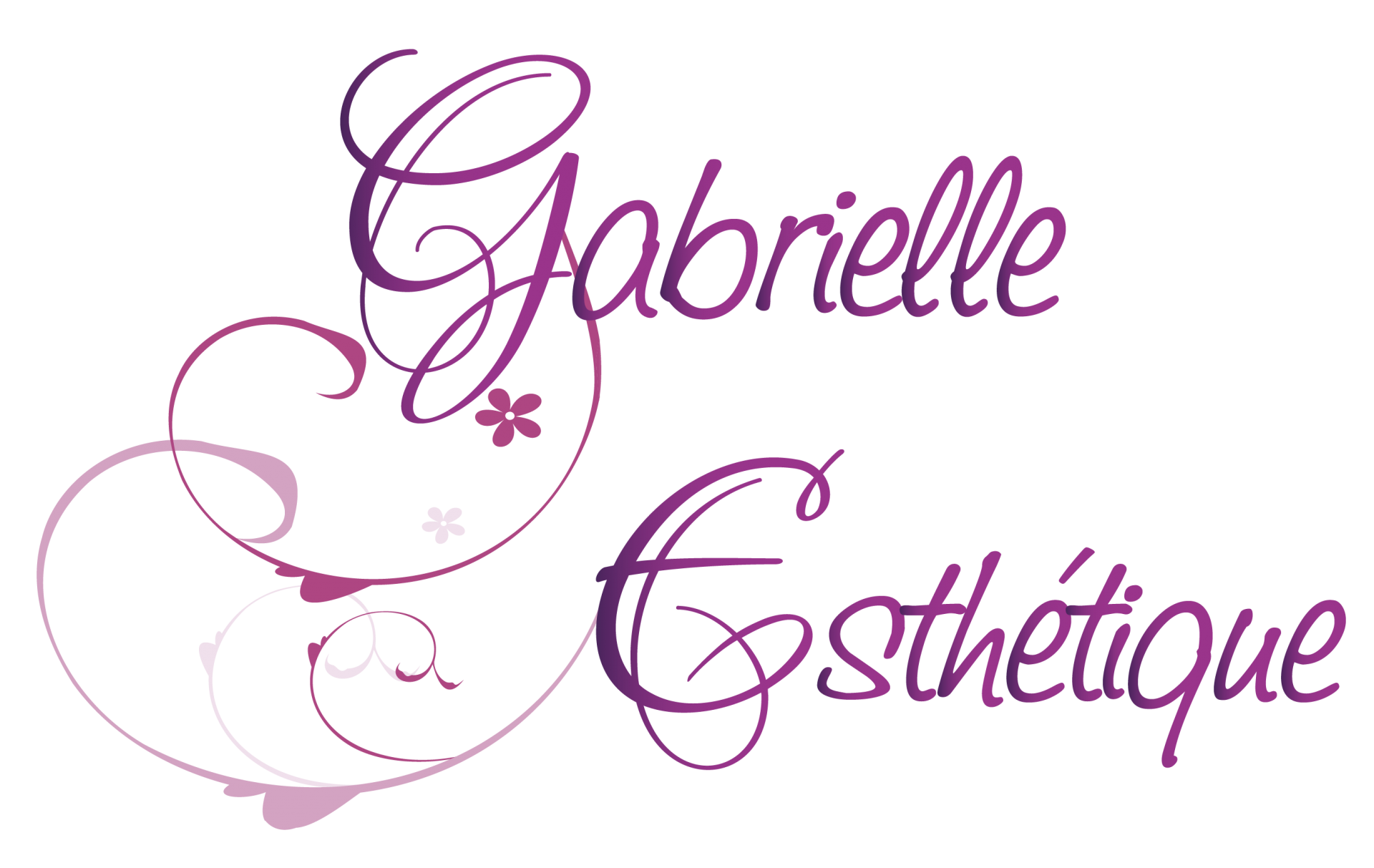 Logo gabrielle esthetique 2