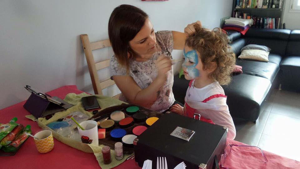 MakeUp carnaval enfant