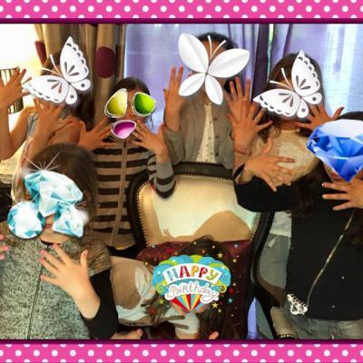 Nail Art princesse Party
