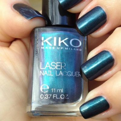 Nouveau vernis Kiko collection LASER n.435