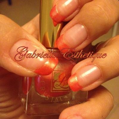 French Orange (vernis Estee Lauder n.311)