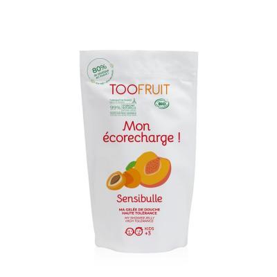 Sensibulle Gelée de douche Abricot/Pêche recharge
