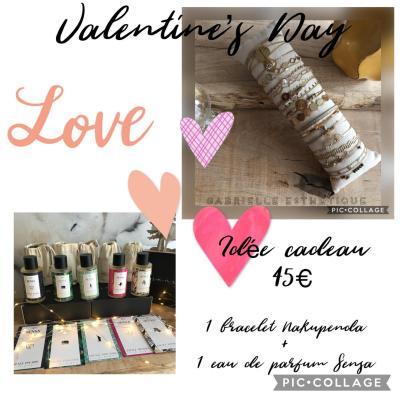 Coffret St Valentin 45€