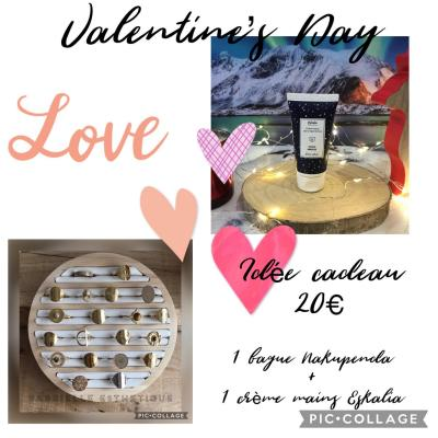 Coffret St Valentin 20€