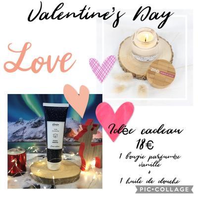 Coffret St Valentin 18€
