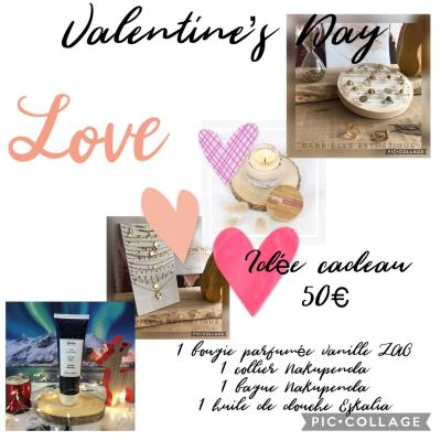 Coffret St Valentin 50€