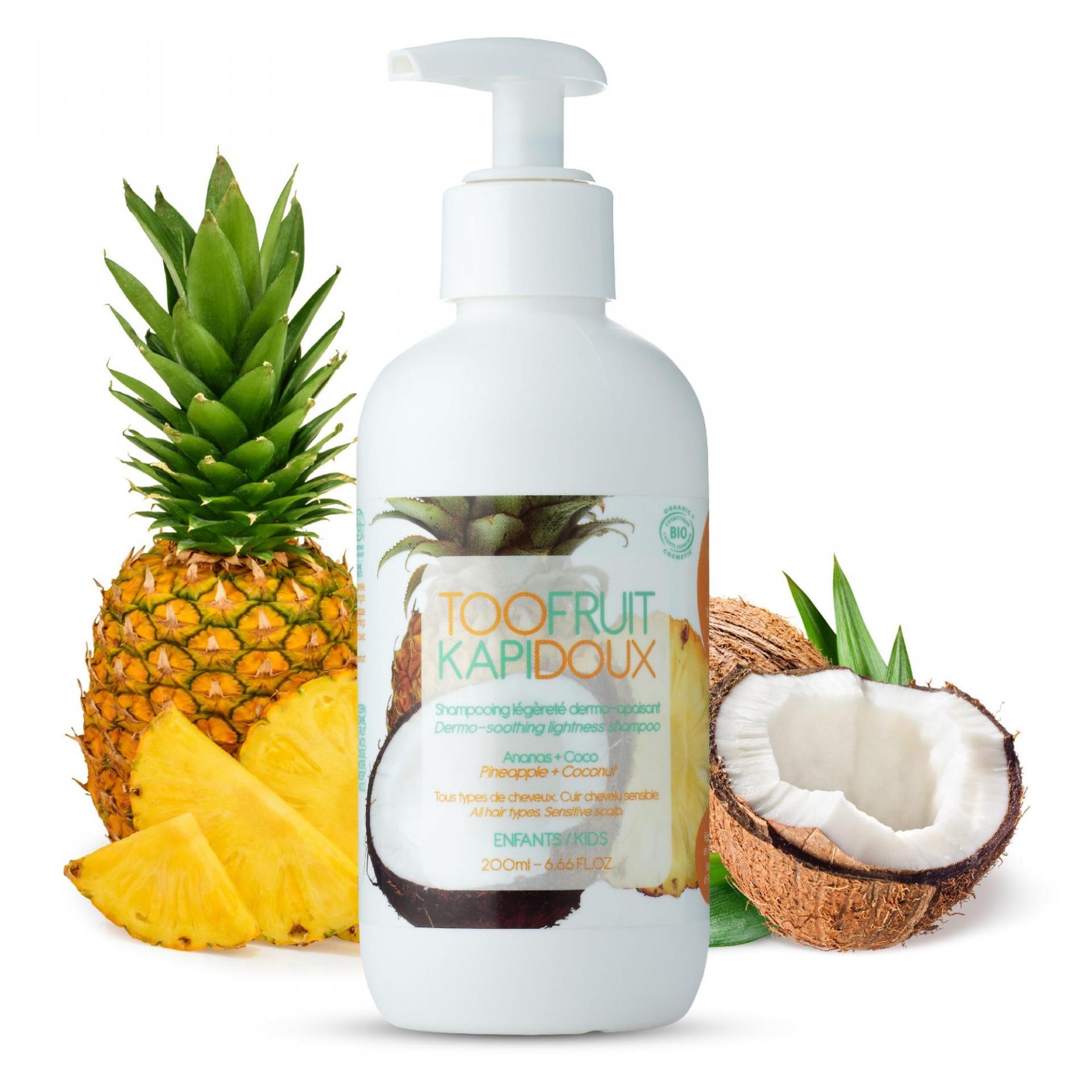 Shampooing bio enfants ananas coco