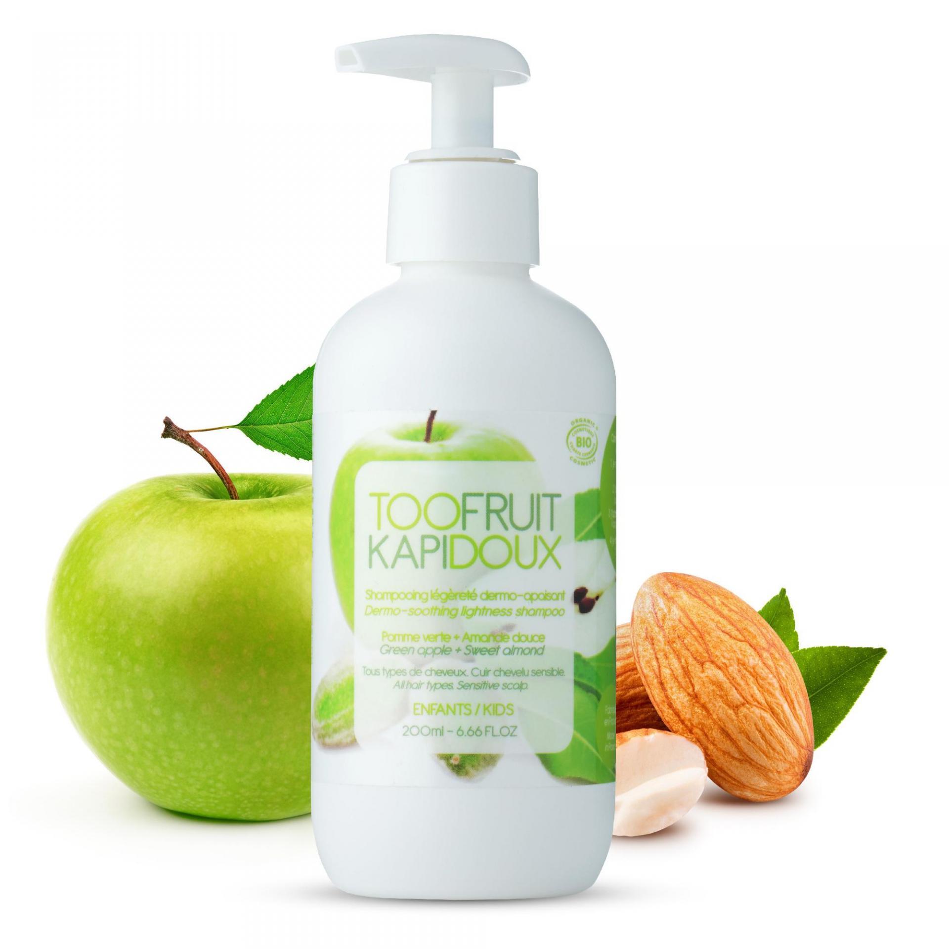 Shampooing bio enfants pomme amande
